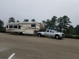 Boondocking in Longview, TX